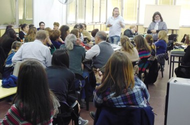 Comenzó el programa de formación permanente para docentes de nuestra Escuela