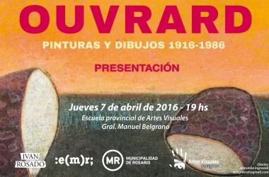 Ouvrard. Pinturas y dibujos, 1916-1986