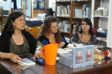 Presentación del libro de Beatriz Argiroffo y Elvira Scalona.